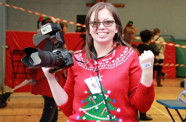 Liz Henson photographer at Christmas